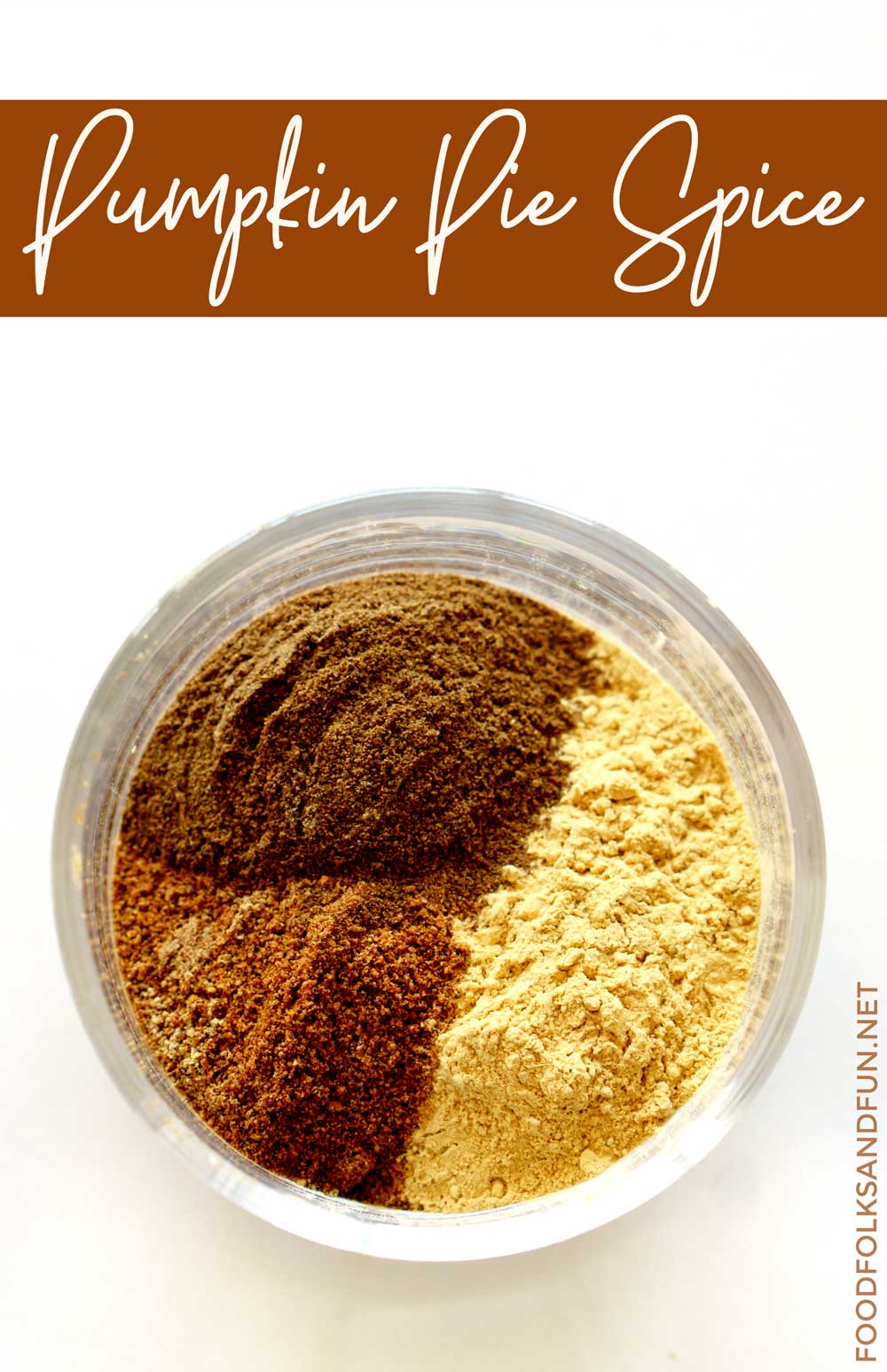 Making Homemade Pumpkin Pie Spice is simple and it saves a lot of money, too! It's my go-to spice blend for Fall. via @foodfolksandfun