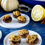 Stuffed Mushrooms: an easy appetizer