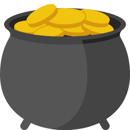 clipart of a pot of gold