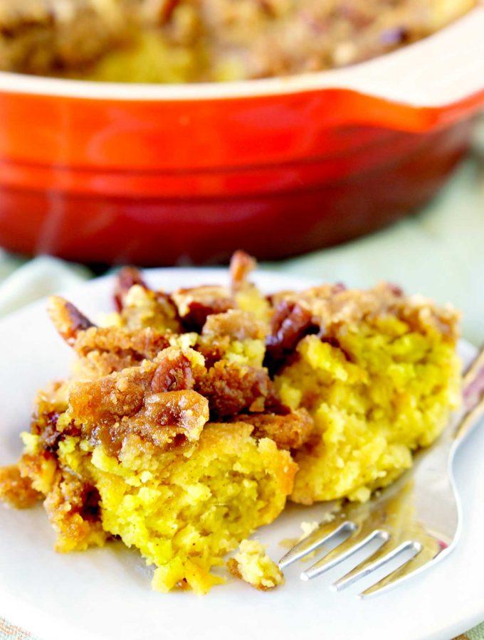 Aunt Nancie's Sweet Potato Soufflé