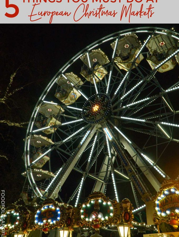 5 Things You Must Do at European Christmas Markets