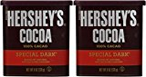 A container of Hershey\'s cocoa