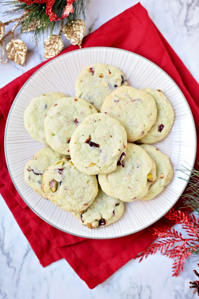 Easy Cranberry Pistachio Pudding Cookies + RECIPE VIDEO ...