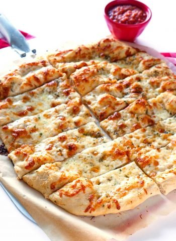 Pizzeria Style Garlic Cheese Breadsticks