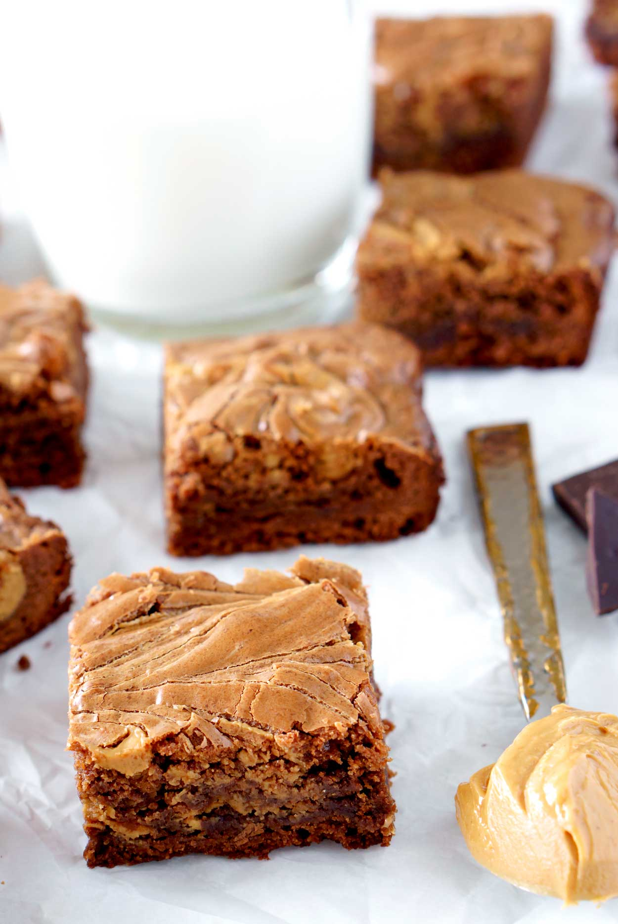 Brownies with Peanut Butter