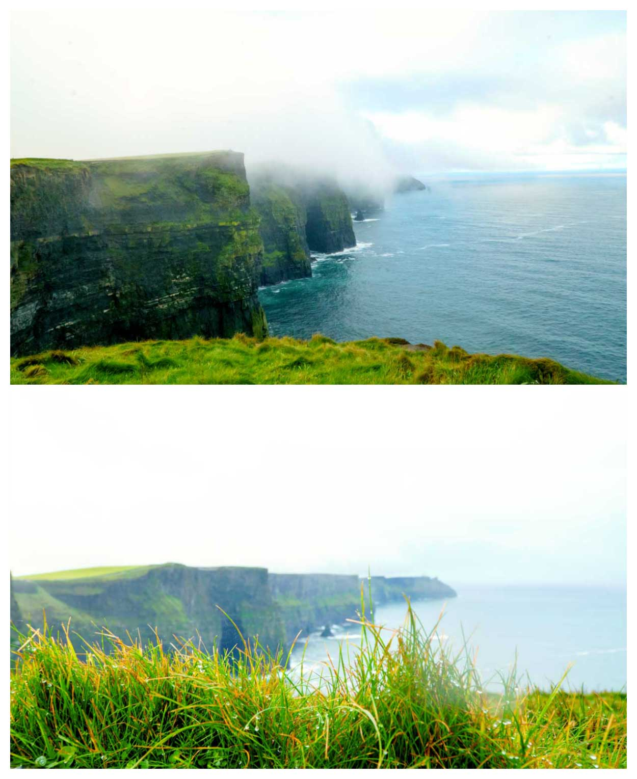 For rolling in over the Cliffs of Moher