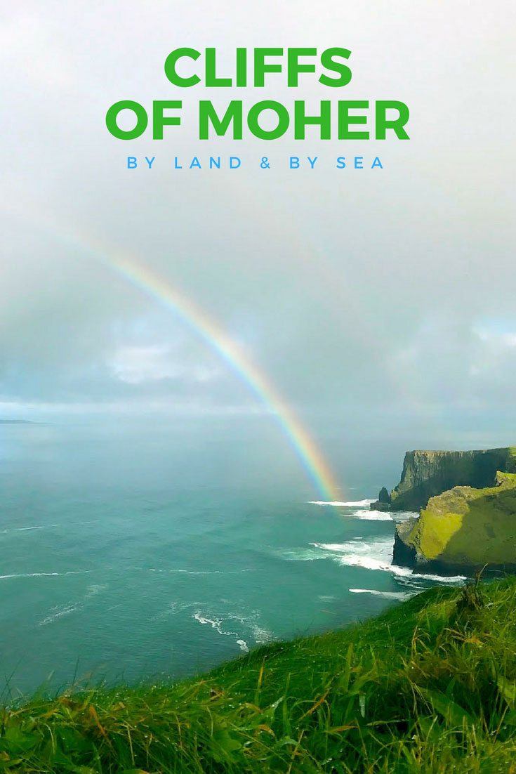 Seeing the Cliffs of Moher by Land and by Sea