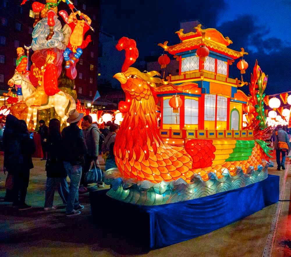 Yearly Nagasaki Lantern Festival