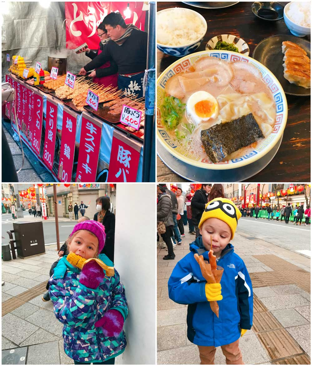 Food at Nagasaki Lantern Festival