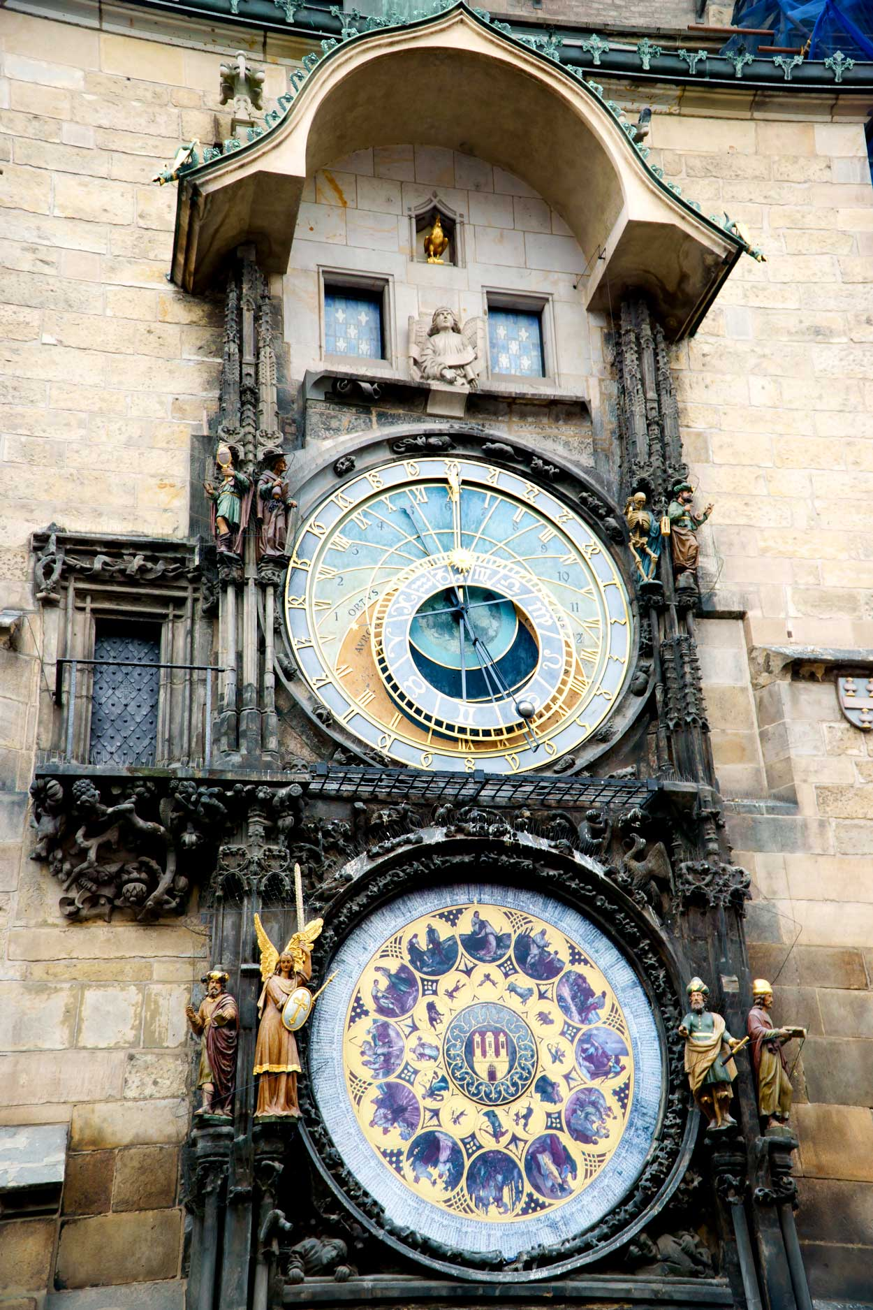 The Prague Astronomical Clock in Prague 1.