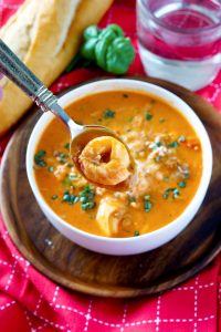 The most delicious Creamy Tomato Tortellini Soup recipe