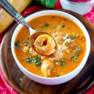 The most delicious Creamy Tomato Tortellini Soup recipe