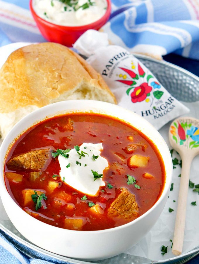 Delicious, authentic Hungarian Goulash recipe