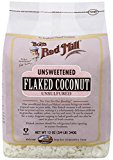 Flaked coconut