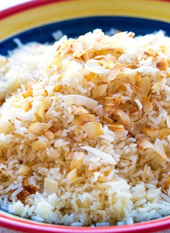The best Coconut Rice recipe!