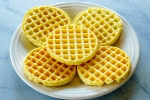 Breakfast Waffle Tacos Step 1