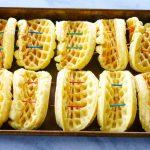Breakfast Waffle Tacos Step 2