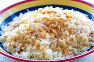 Step 3 - How to Make Coconut Rice