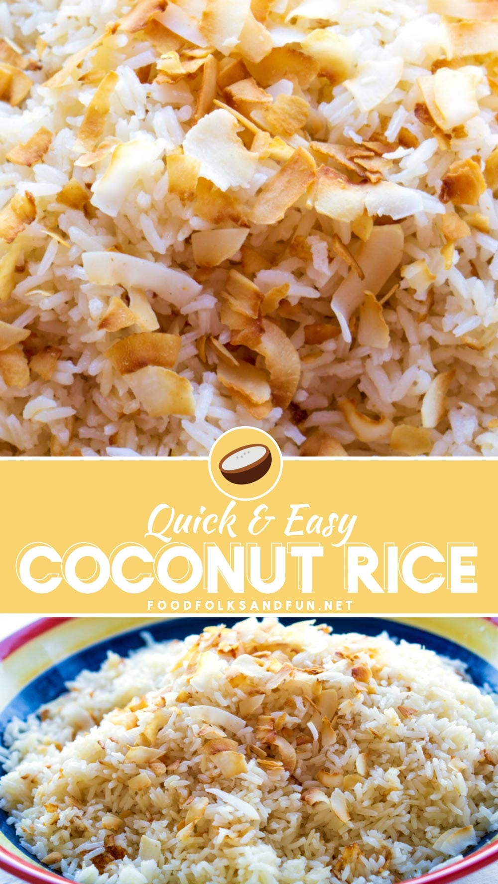 Delicious, easy Coconut Rice recipe!