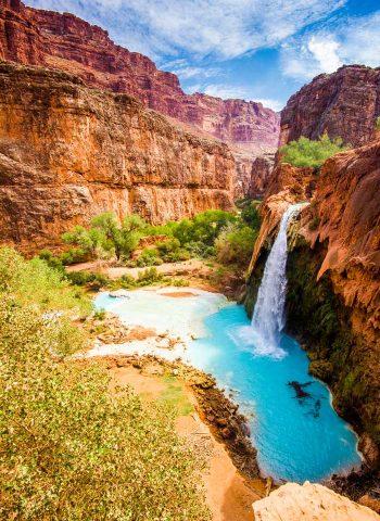Gorgeous Havasupai Falls Arizona