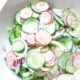 The best Creamy Cucumber Salad recipe!
