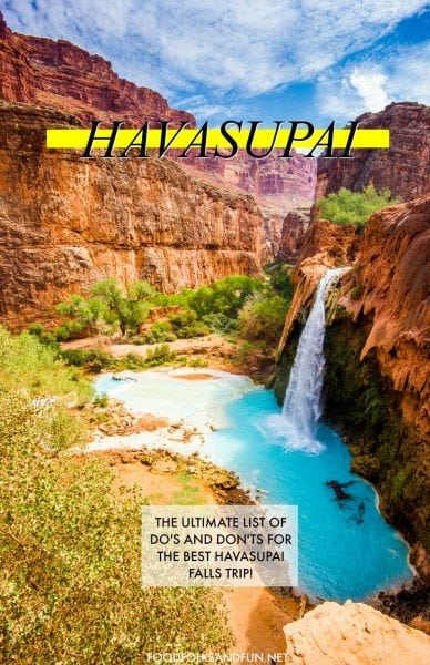 Everything you need to know about hiking Havasupai!