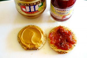 Simple Fish Cut out PB&J - Step 2