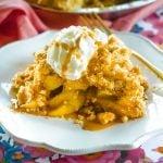The best homemade Dutch Apple Pie recipe!