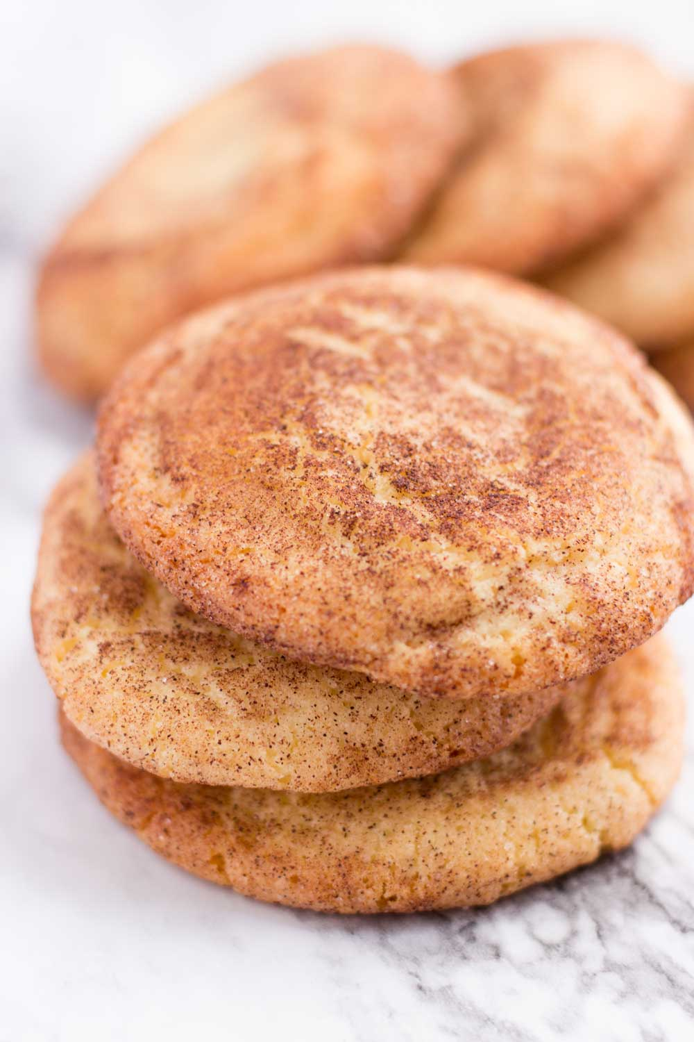 A stack of Snickerdoodles