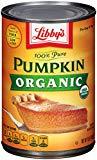 A can of pumpkin puree