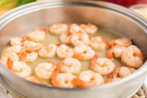 How to make Shrimp Scampi? Step 3
