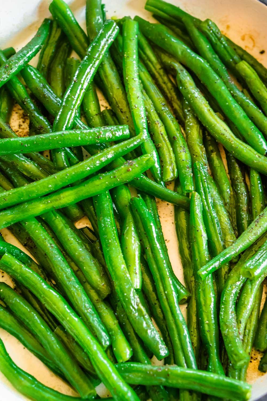 15-Minute Skillet Green Beans!