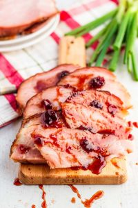Christmas Ham with Ham Glaze