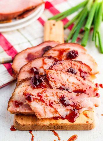 Christmas Ham with Ham Glaze