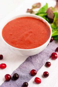 Cranberry Vinaigrette for Thanksgiving