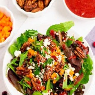 Delicious Thanksgiving Salad
