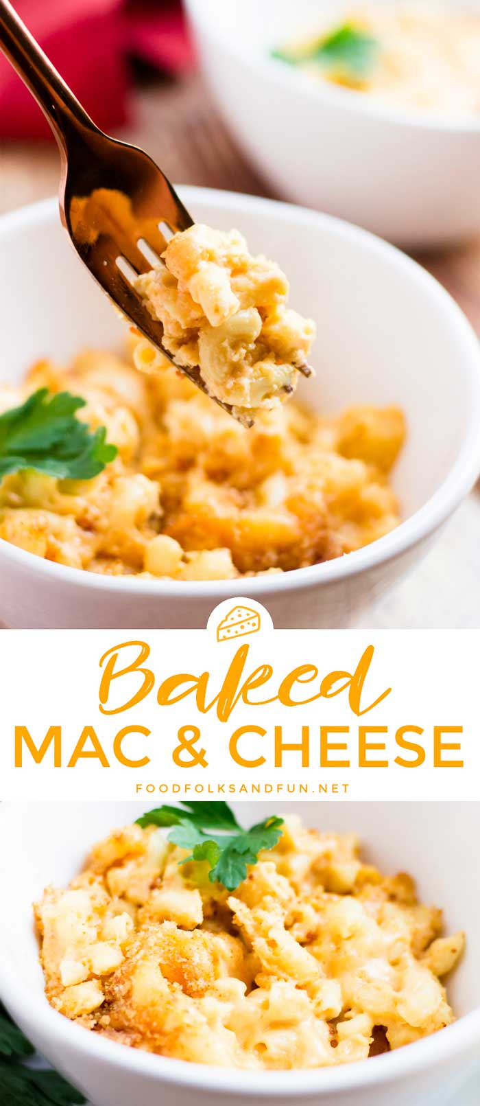 Baked Mac And Cheese Food Folks And Fun