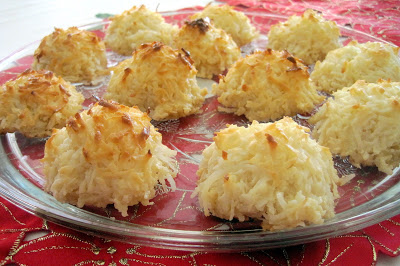 Homemade Macaroons on a plate
