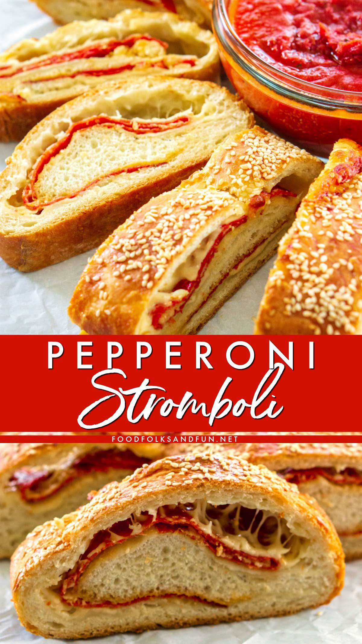 Best-Ever Pepperoni Stromboli