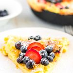 Easy Dutch Baby pancake