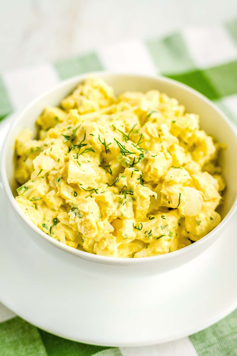 Egg Salad recipe with chives and dill