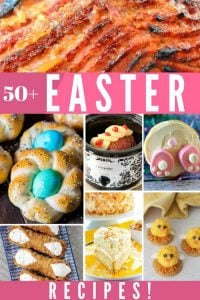 This Easter Recipes Roundup has over 50 recipes for the perfect Easter Brunch and Easter Dinner spread.