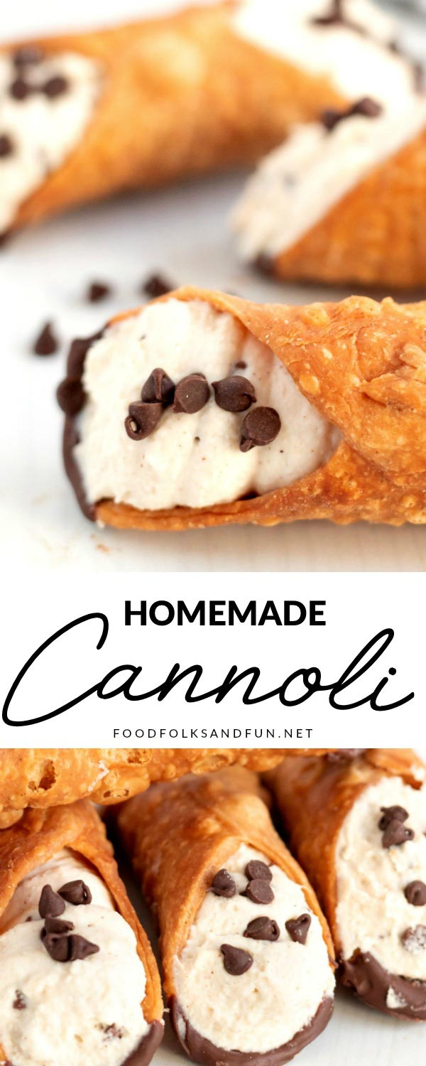 Making fresh, homemade cannoli cream is easier than you think. You'll be filling cannoli shells in no time with my How to Make Cannoli Cream tutorial! This popular recipe has been shared over 124,000 times! via @foodfolksandfun