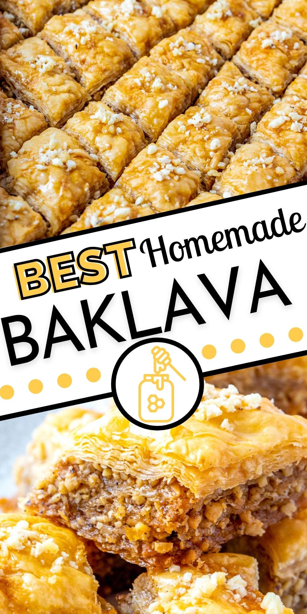 This bestBaklava recipe takes time, but it is SO worth it! It is perfect for family functions, parties, holidays, or gifting! via @foodfolksandfun