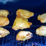 Grill for 20 minutes, or until the chicken reaches an internal temperature of 120 degrees.