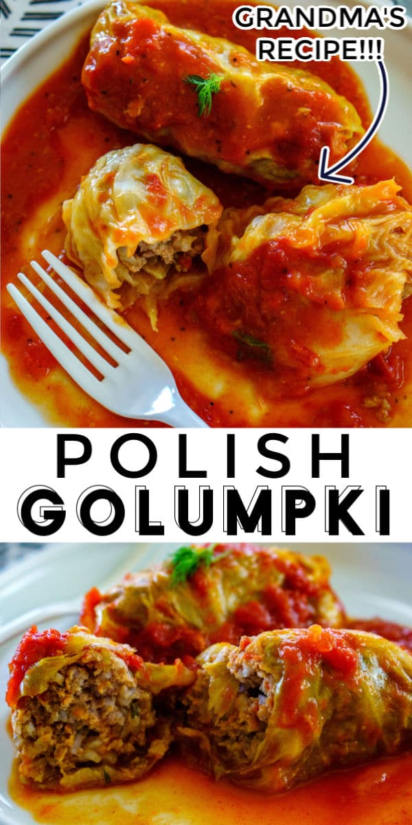 Golumpki or Gołąbki are Polish cabbage rolls that are stuffed with a mixture of beef, pork, rice, and seasoning. This recipe serves 12 and costs just $11.32 to make or $0.95 per serving!  via @foodfolksandfun