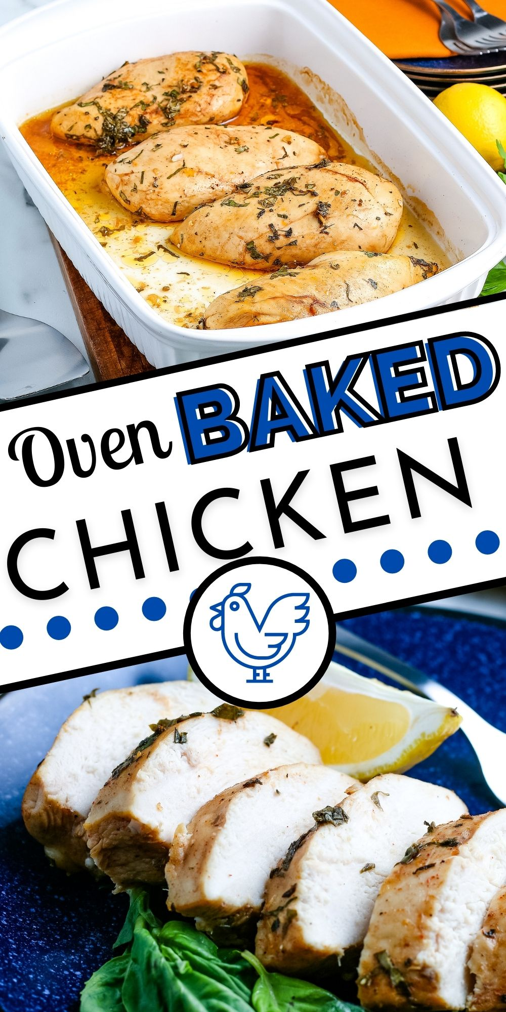 This Oven Baked Boneless Chicken Breast recipe makes the juiciest and most flavorful chicken. It's easy to make, and it's my go-to chicken recipe.  via @foodfolksandfun