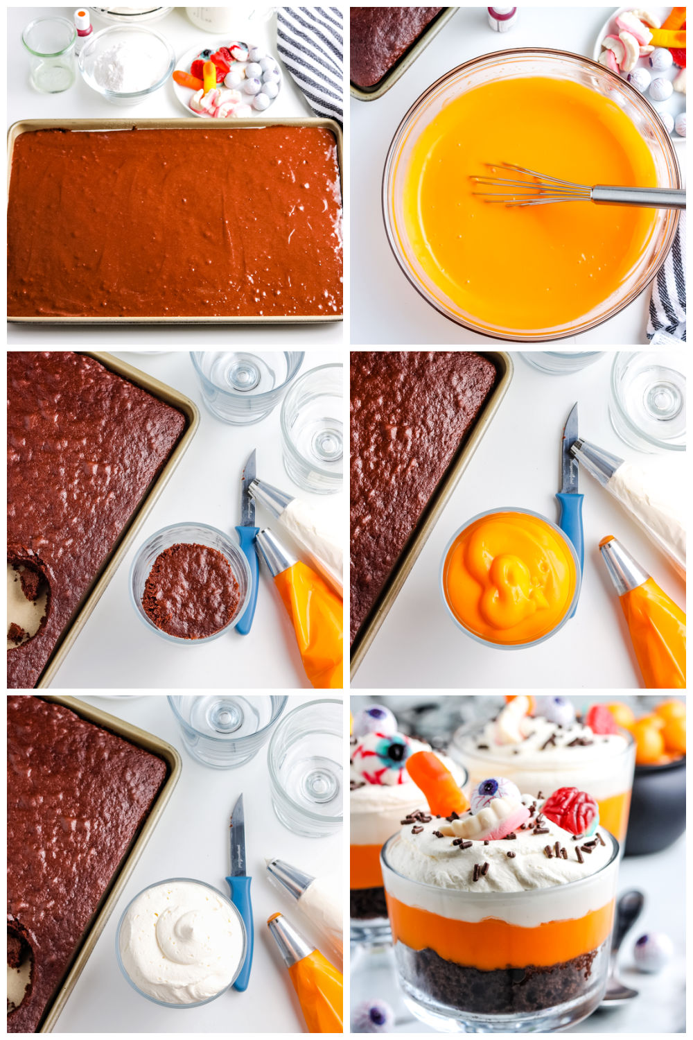 A picture collage showing how to make this recipe.